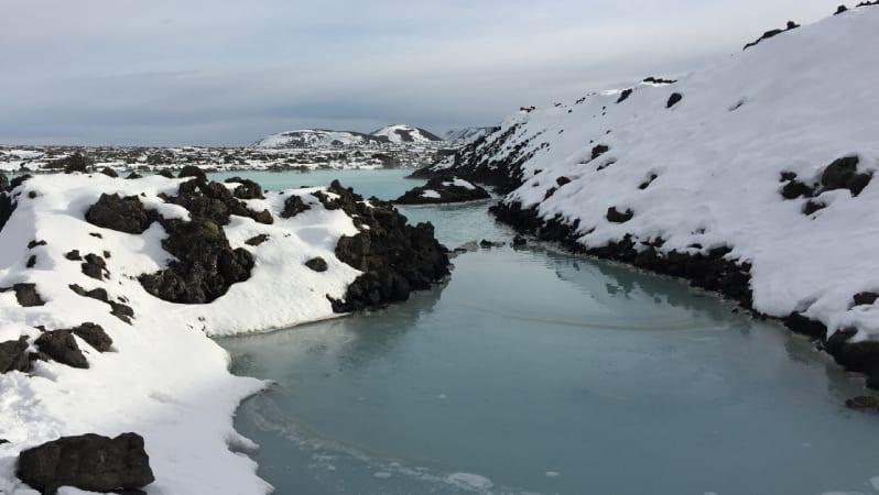 Glacier Representing Sustainability