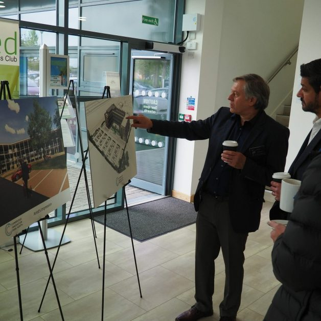 Managing Director Rick Parisi Showing Future Cambridge Office Developments